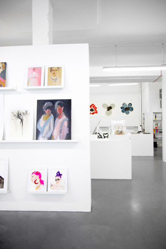 SHOWstudio Fashion Illustration Floral Street Pop-Up