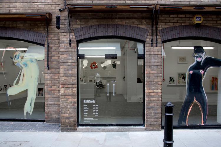 SHOWstudio Fashion Illustration Floral Street Pop-Up