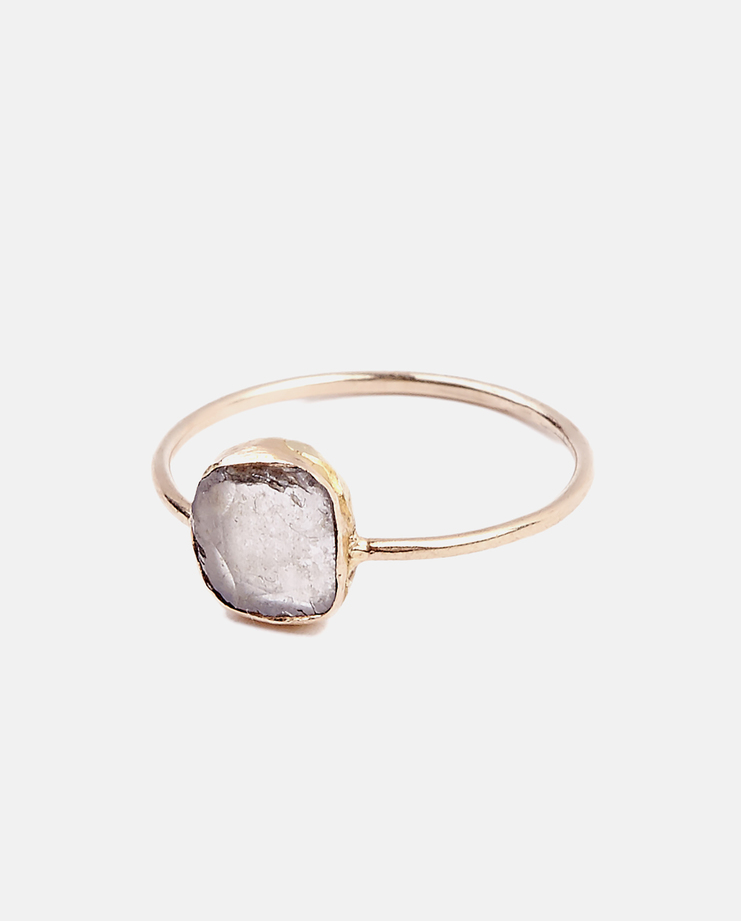 Jenifer Corker Diamond Slice Ring