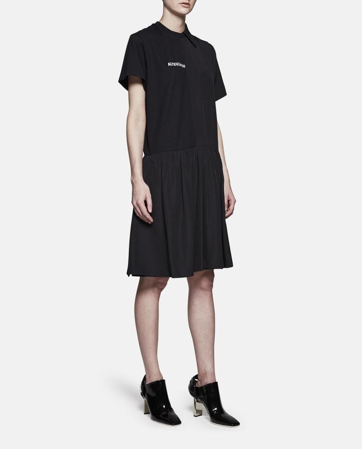 Alyx Black Split Dress