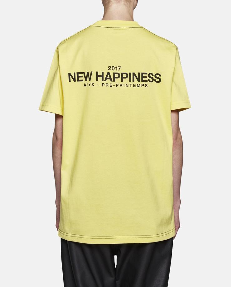 Alyx Yellow Short Sleeve T-Shirt
