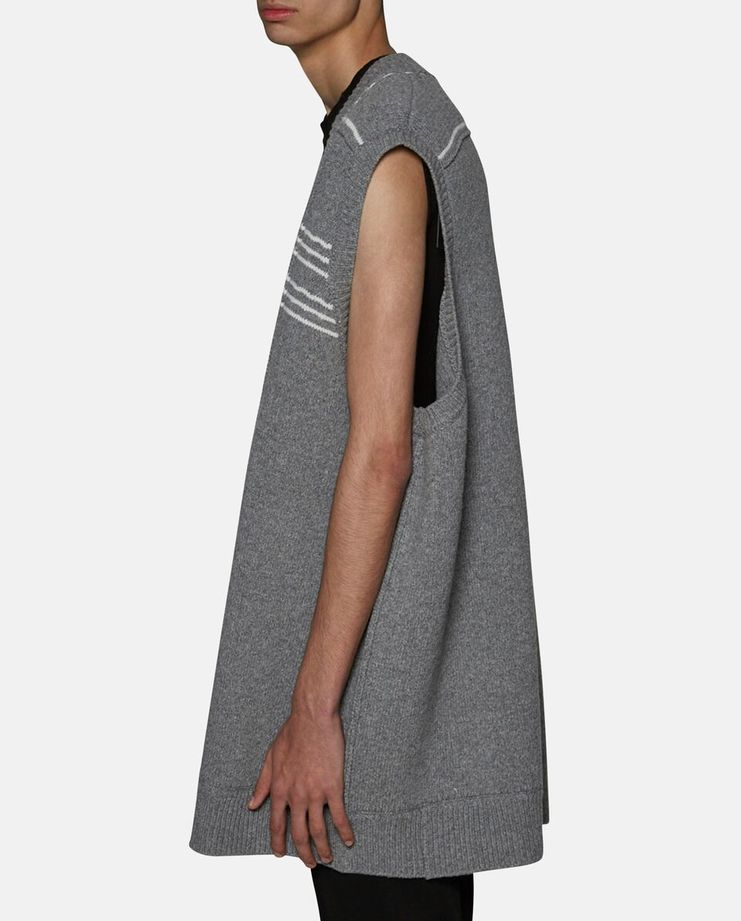 Oversized Sleeveless Cardigan by Raf Simons SS17