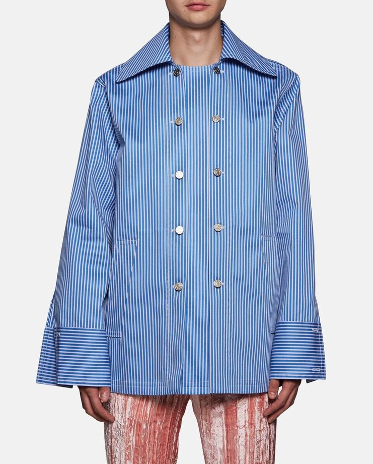 Oversized Double Opening Shirt Jacket by Delada SS17