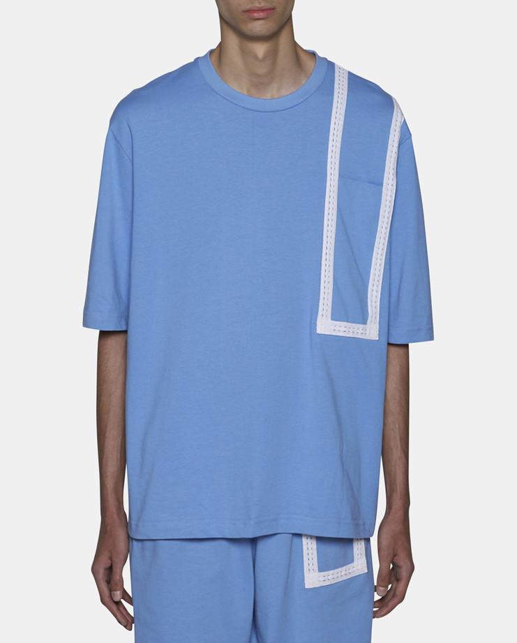 Cottweiler Hotel T-Shirt Blue SS17