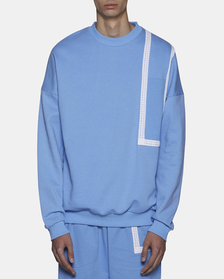 Cottweiler Hotel Sweatshirt Blue SS17