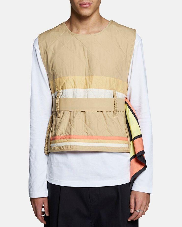 Craig Green Diamond Quilt Vest SS17
