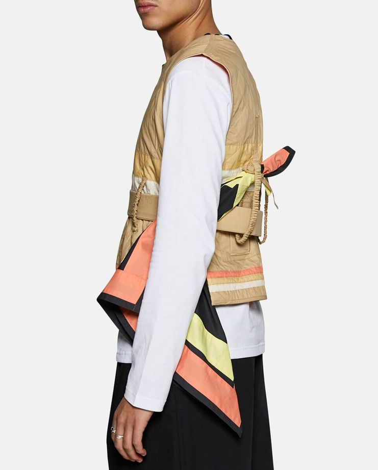 Craig Green Diamond Quilt Vest SS17