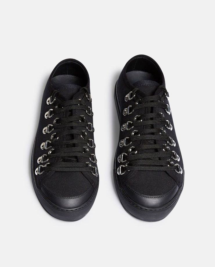 J.W. Anderson Low Canvas Trainers SS17