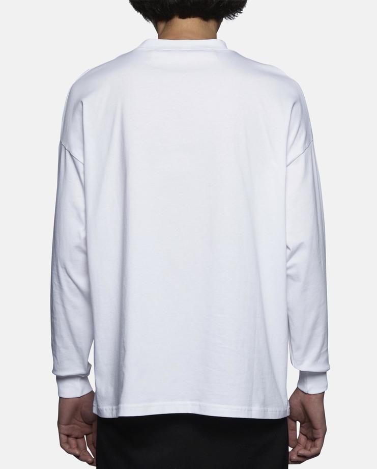 Martine Rose, Printed Classic Long Sleeve Shirt, White, S/S 17