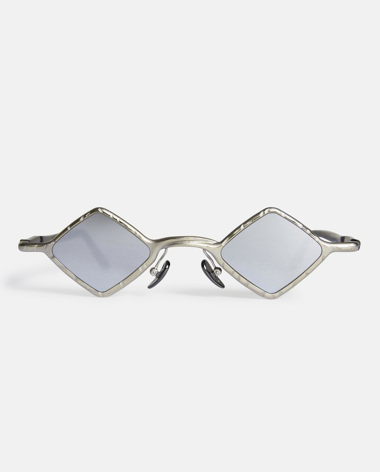 Kuboraum 'Z12' Mask Silver Sunglasses