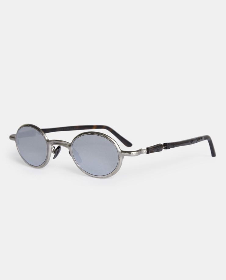 Kuboraum 'Z10' Mask Silver Sunglasses