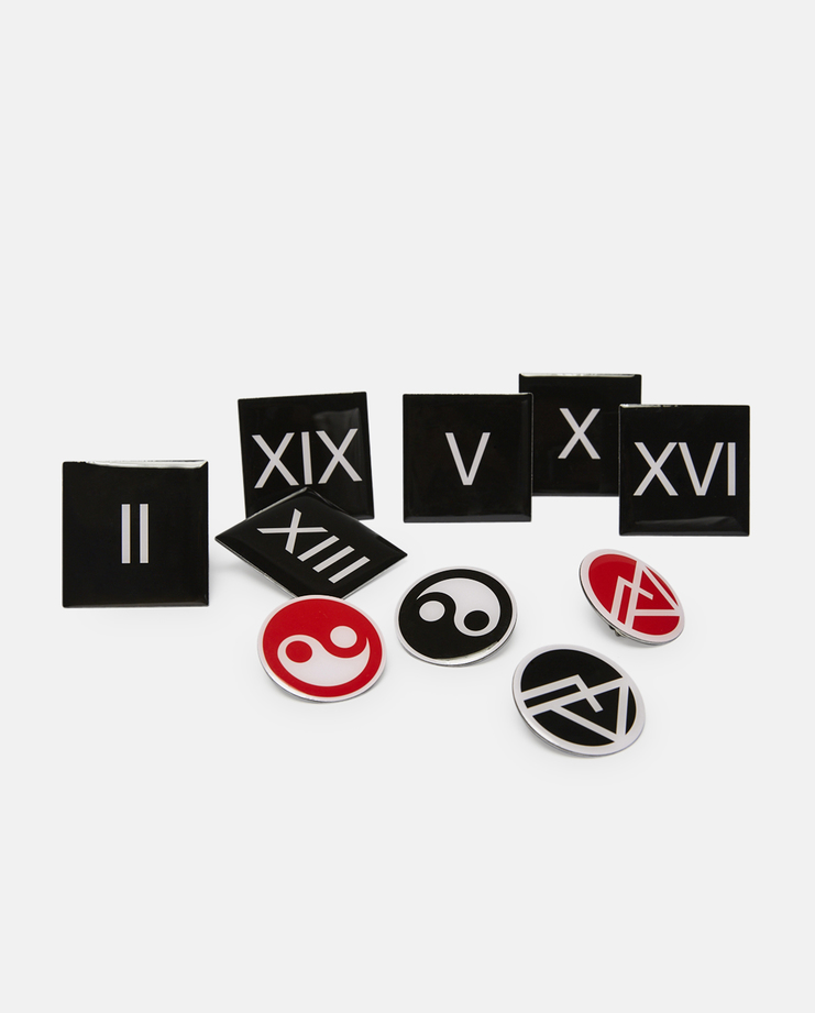 Gosha Rubchinskiy, Set of 10 Badges, S/S 17