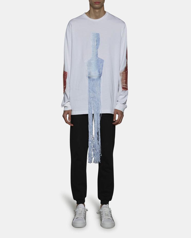 Cottweiler Figure Long Sleeve T-Shirt