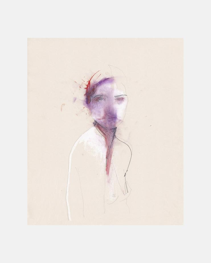 Untitled (Portrait) by Amelie Hegardt