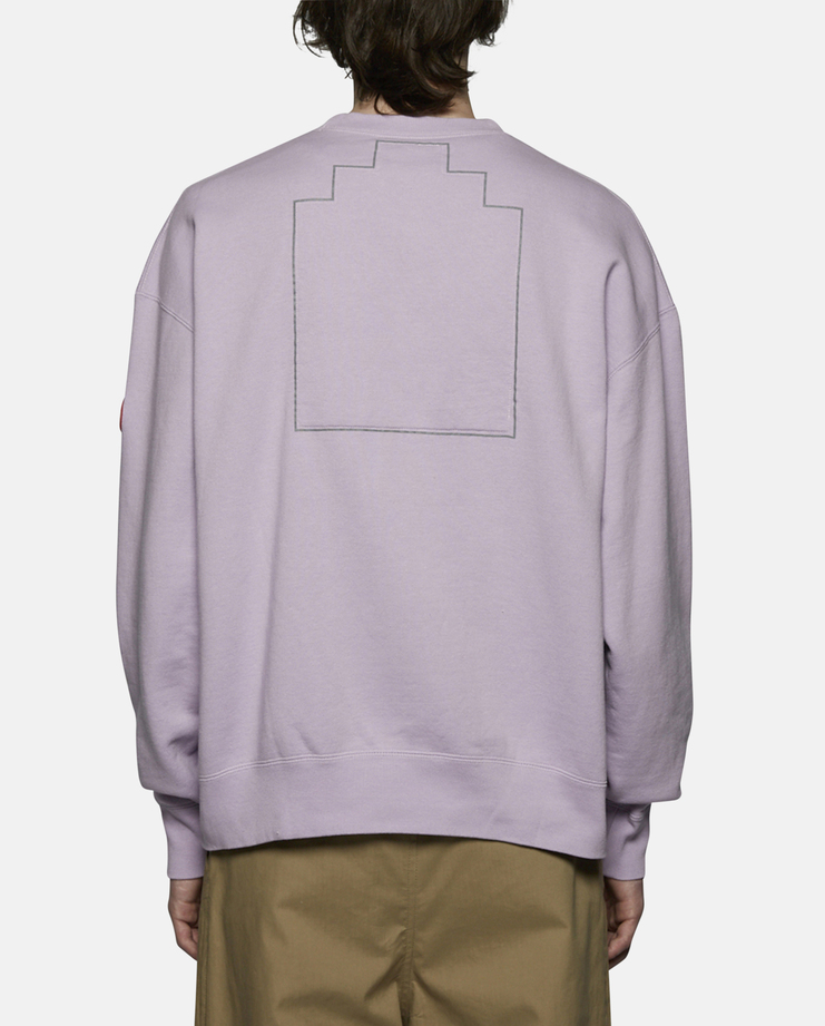 Cav Empt Embroidery Crew Neck Sweater purple SS17