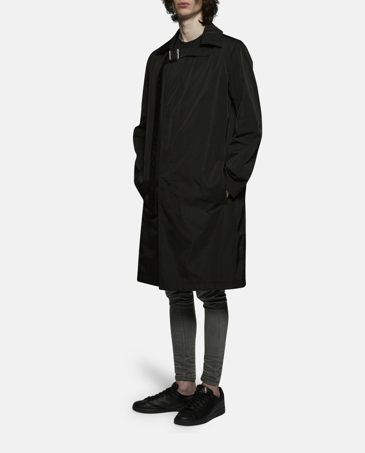 Raf Simons Coat with Collar Strap SS17