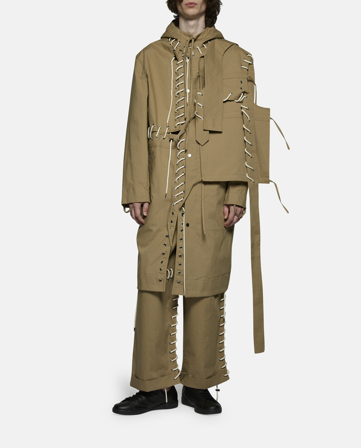 Craig Green - Laced Long Anorak Jacket