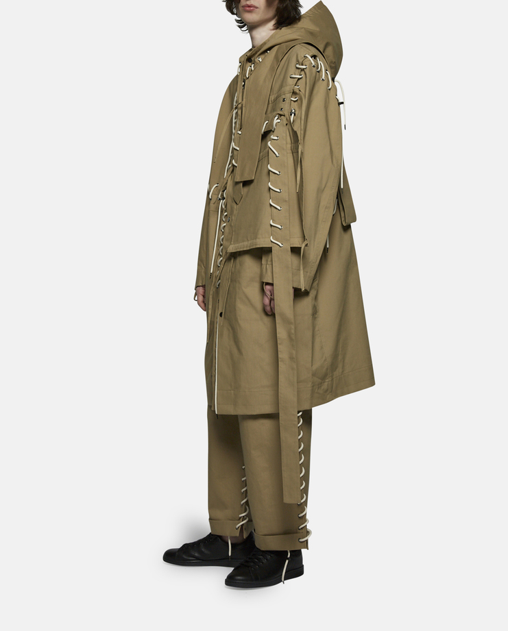 Craig Green Laced Long Anorak Jacket