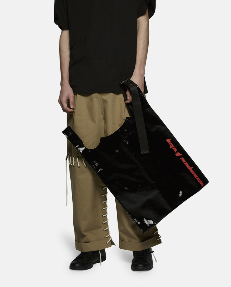 Raf Simons Plastic Shopping Bag
