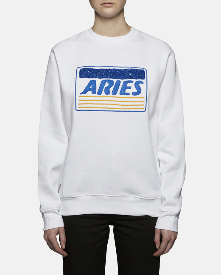 Aries Credit Card Embroidered Sweater