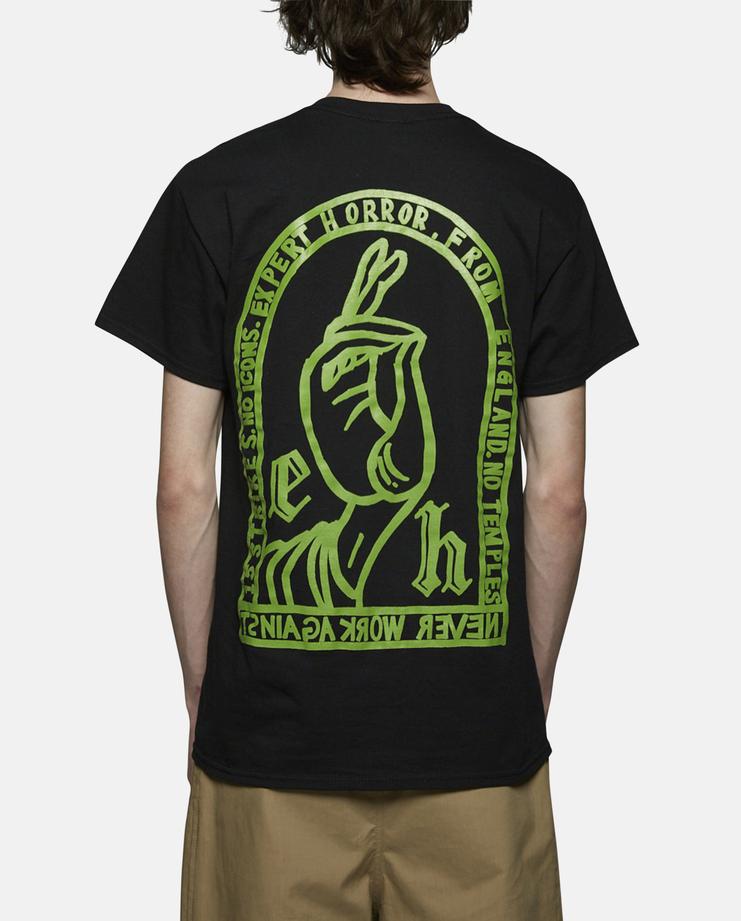 Expert Horror Saint Hand T-Shirt Black SS17