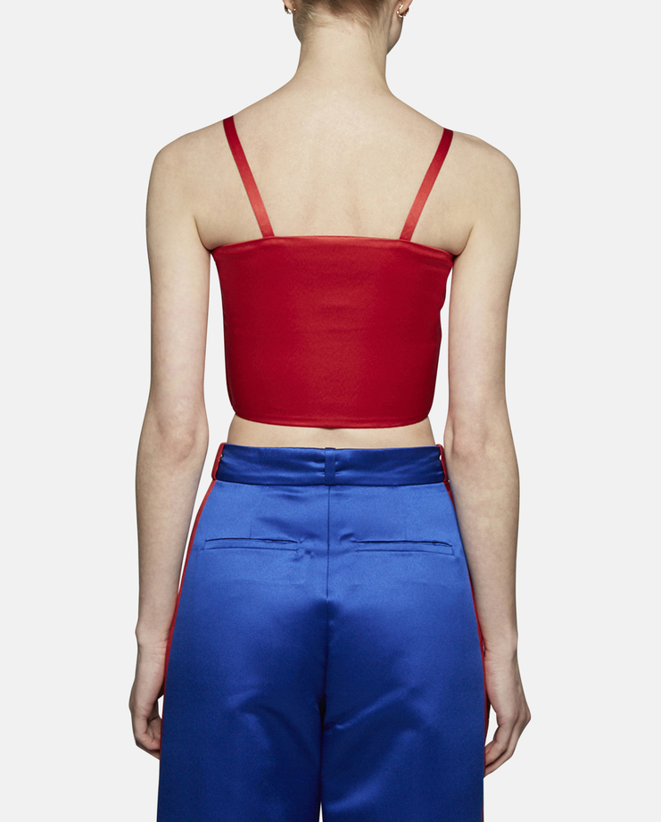 Sadie Williams Twist Top with Side Zip Opening