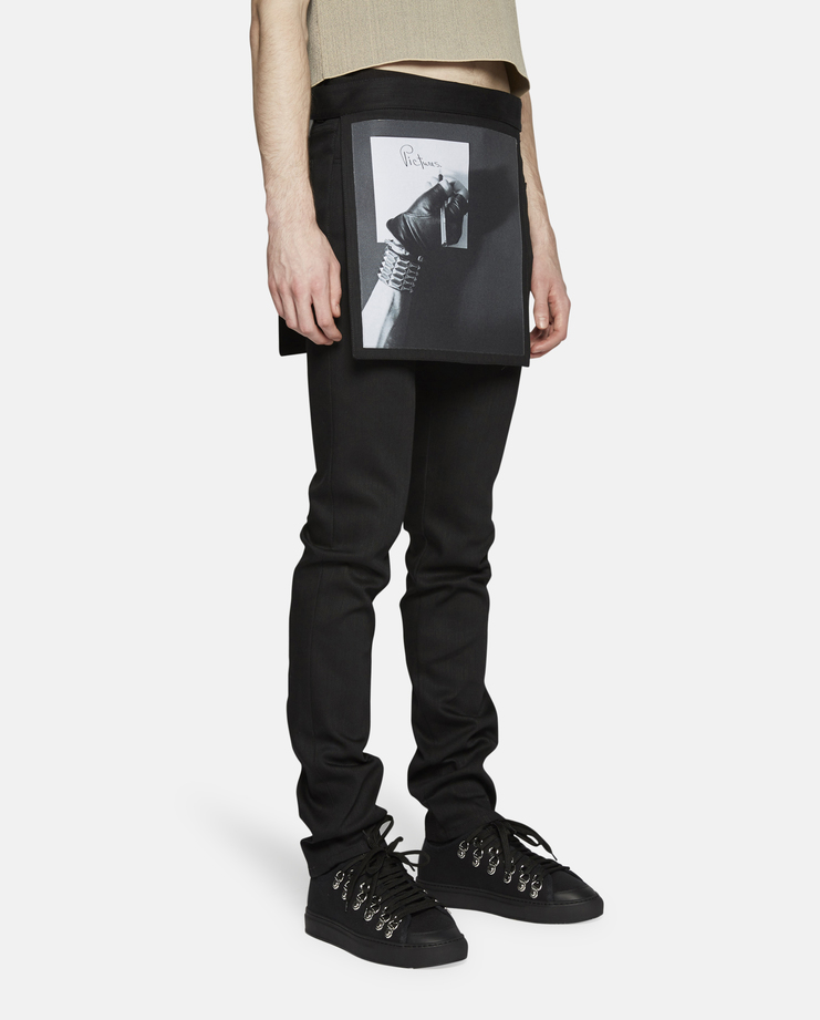 Raf Simons Slim Fit Jeans with Flap