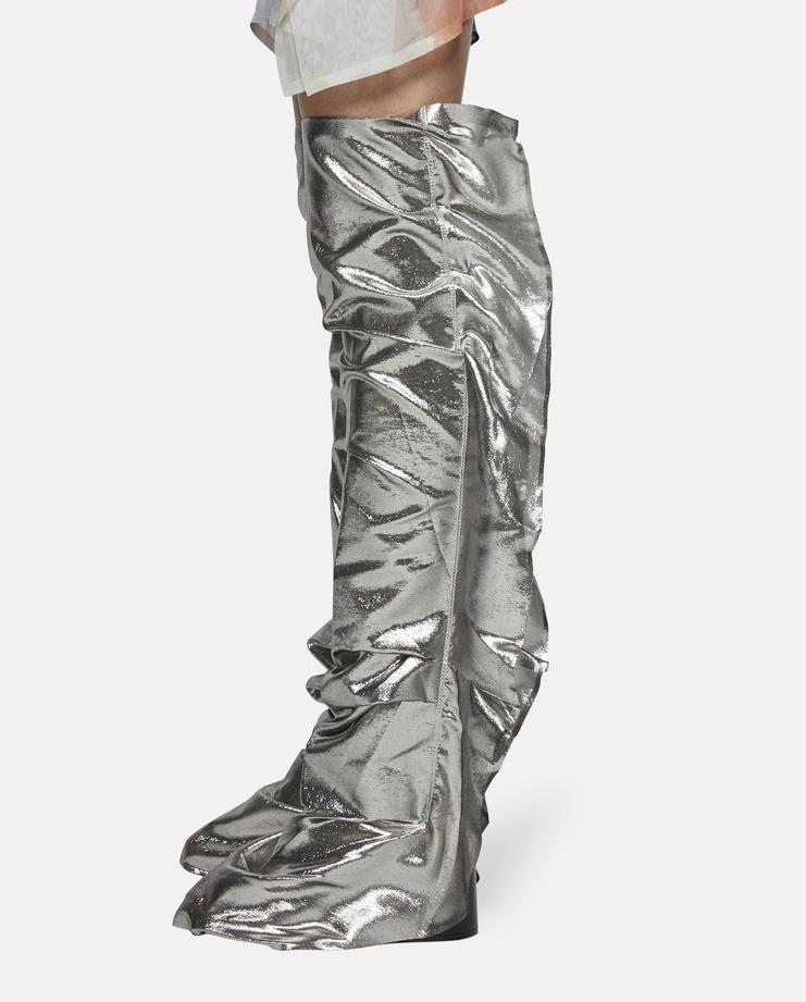 Paula Knorr Metallic Leg Warmers