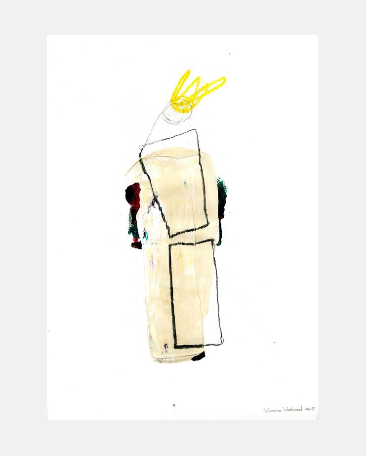 Lara Mackenzie Lee, Vivienne Westwood A/W 17 , SHOWstudio, fashion illustration, London Menswear