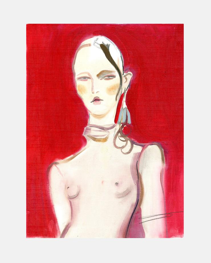 Fashion East A/W 17 Poppy Waddilove