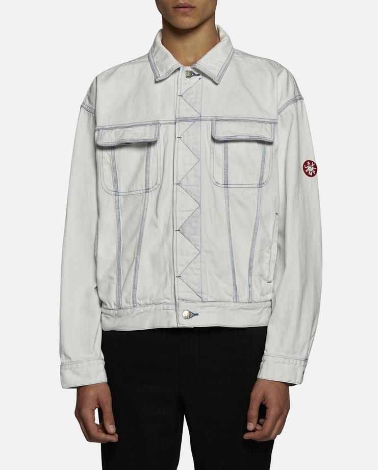 Cav Empt Bleached Denim Jacket