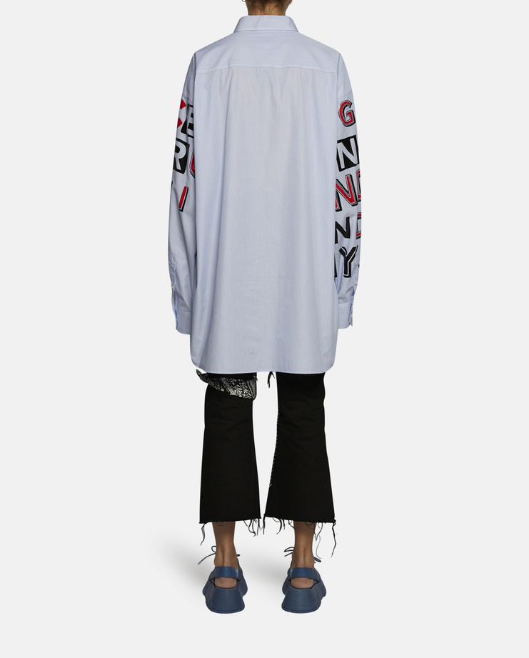 Marg, Margiela, Matrin, Maison, Galliano, Maison Marg, Maison Margiela, Long Sleeve, Shirt ss17, defile Oversized, unisex