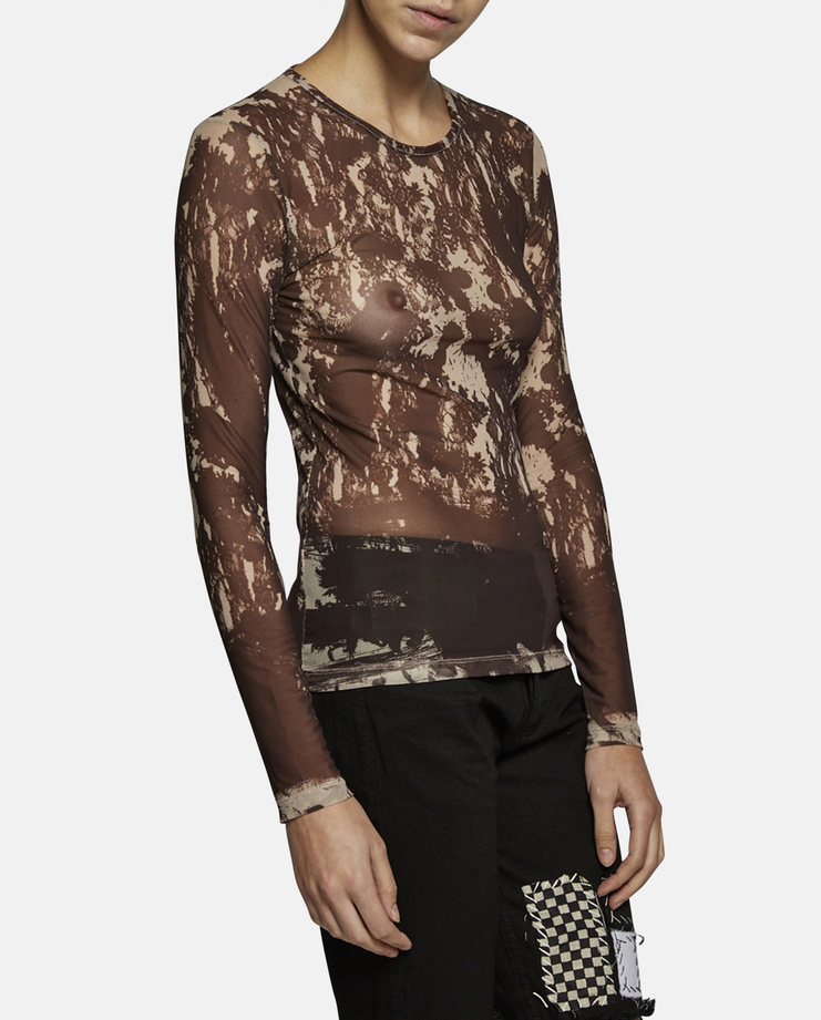Dust x Jurgi Embroidered Sheet Top