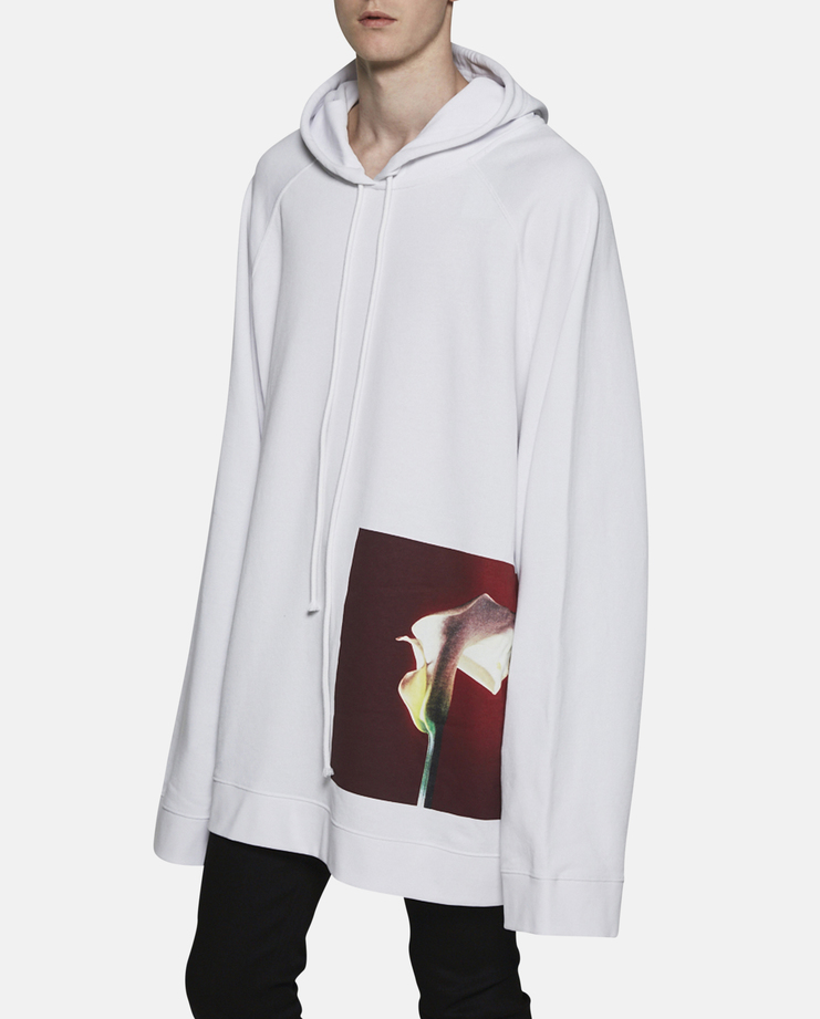Raf Simons Calla Lily Oversized Hoodie