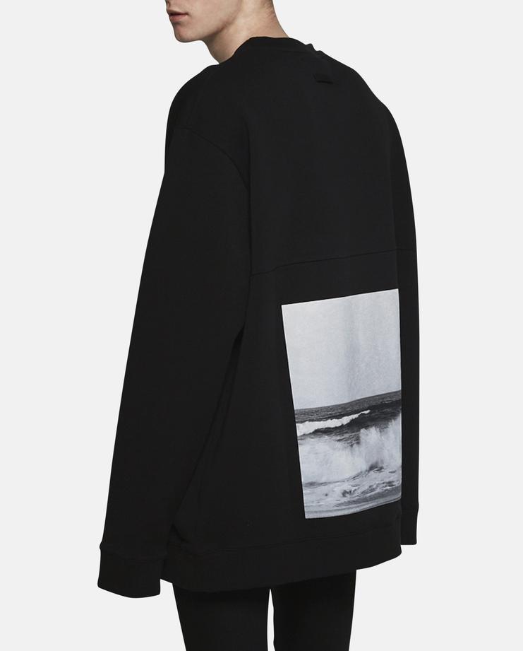 Raf Simons Oversized Waves Sweatshirt