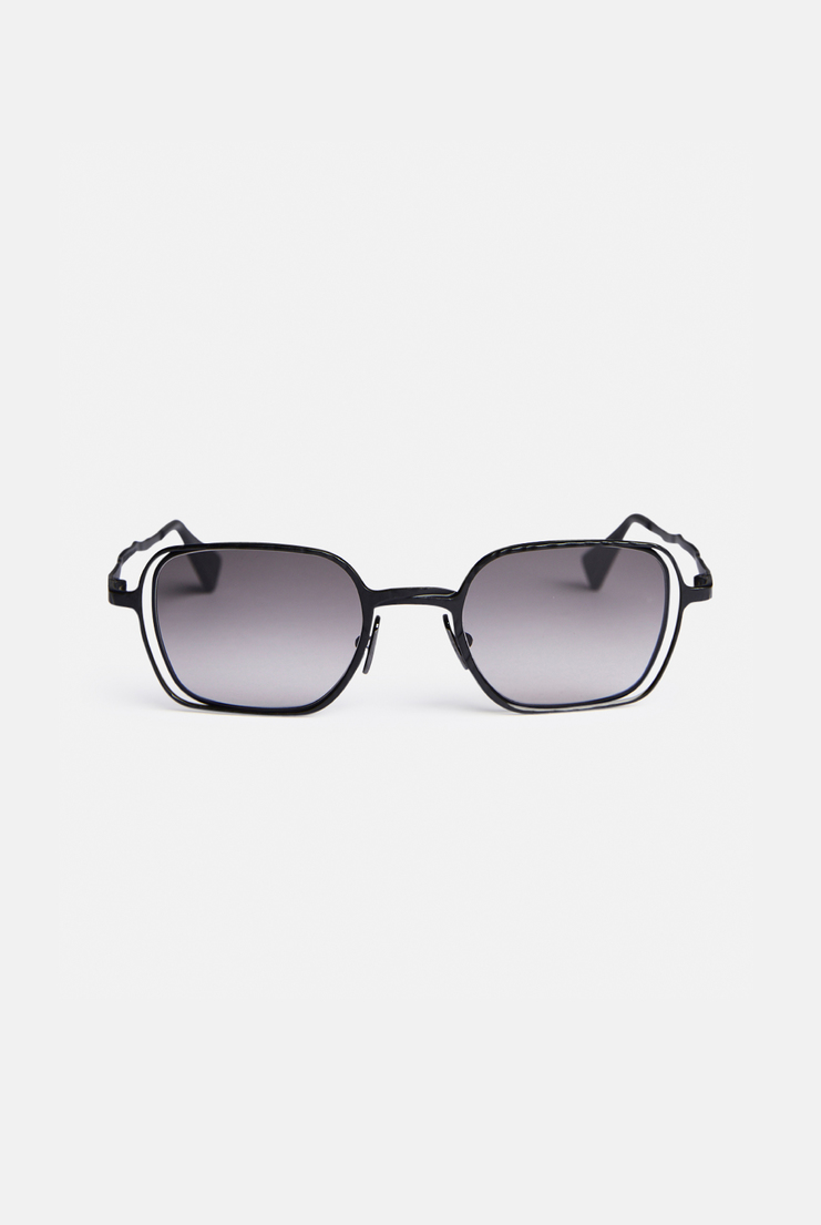 Kuboraum 'H12' Sunglasses German Berlin Menswear Womenswear Sunglasses Glasses Accessories Contemporary Fashion Designer New Collection New Arrivals Autumn Winter 17 AW17 Silver Acetate