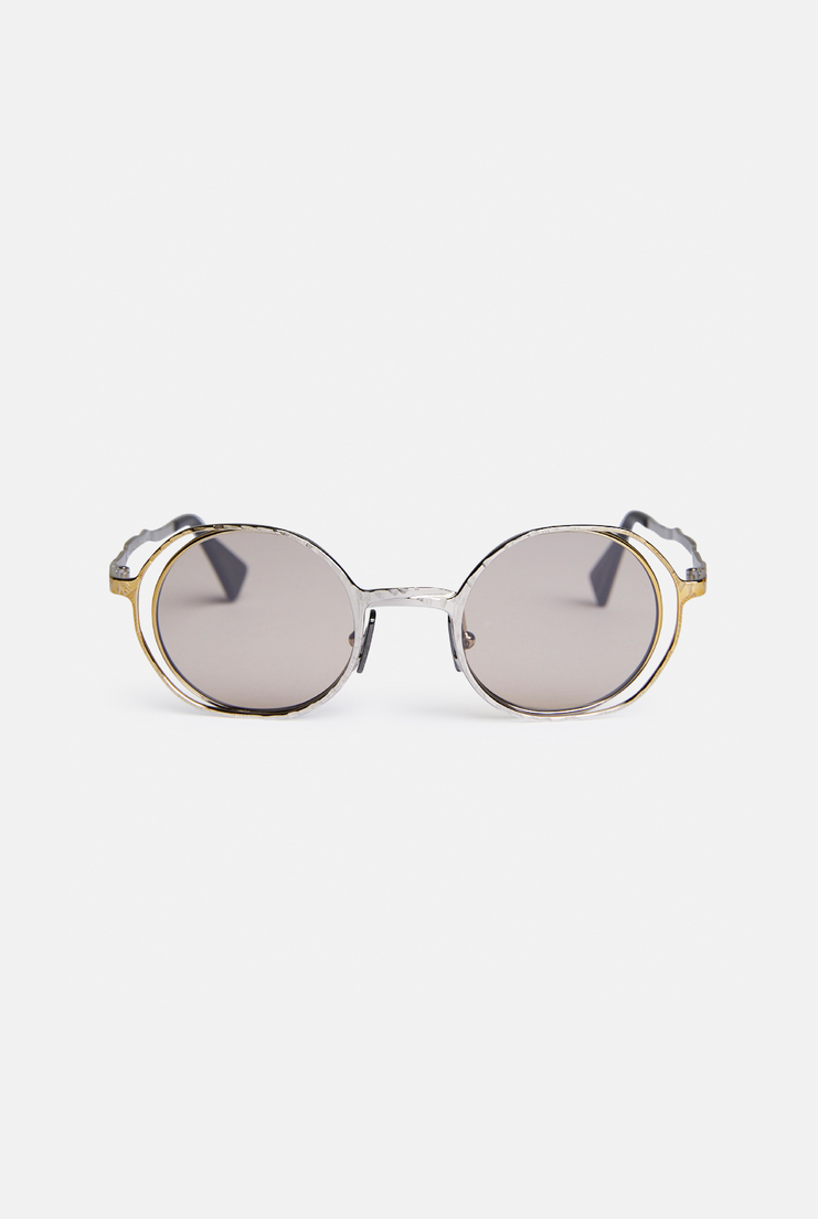 'H11' Round Frame Sunglasses