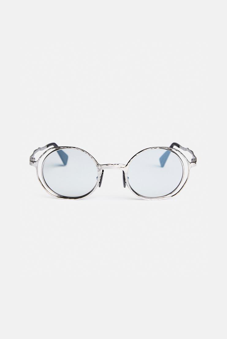 Kuboraum 'H11' Round Frame Sunglasses