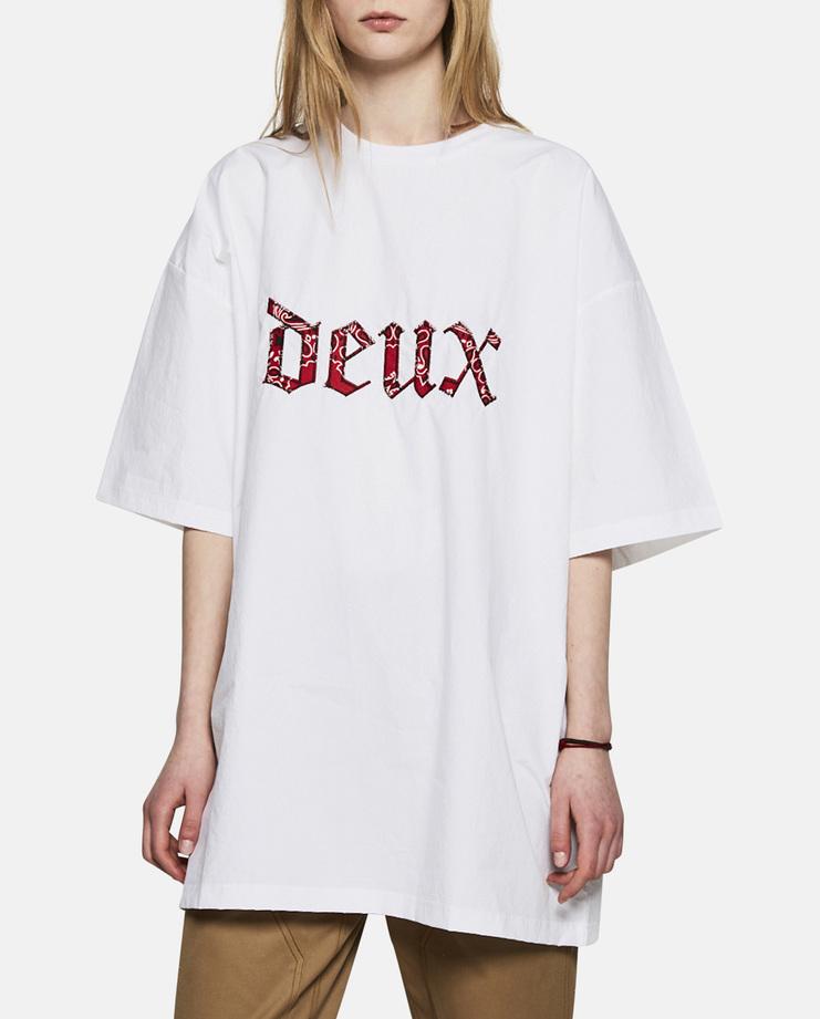 Hyein Seo Bandana Patched T-Shirt