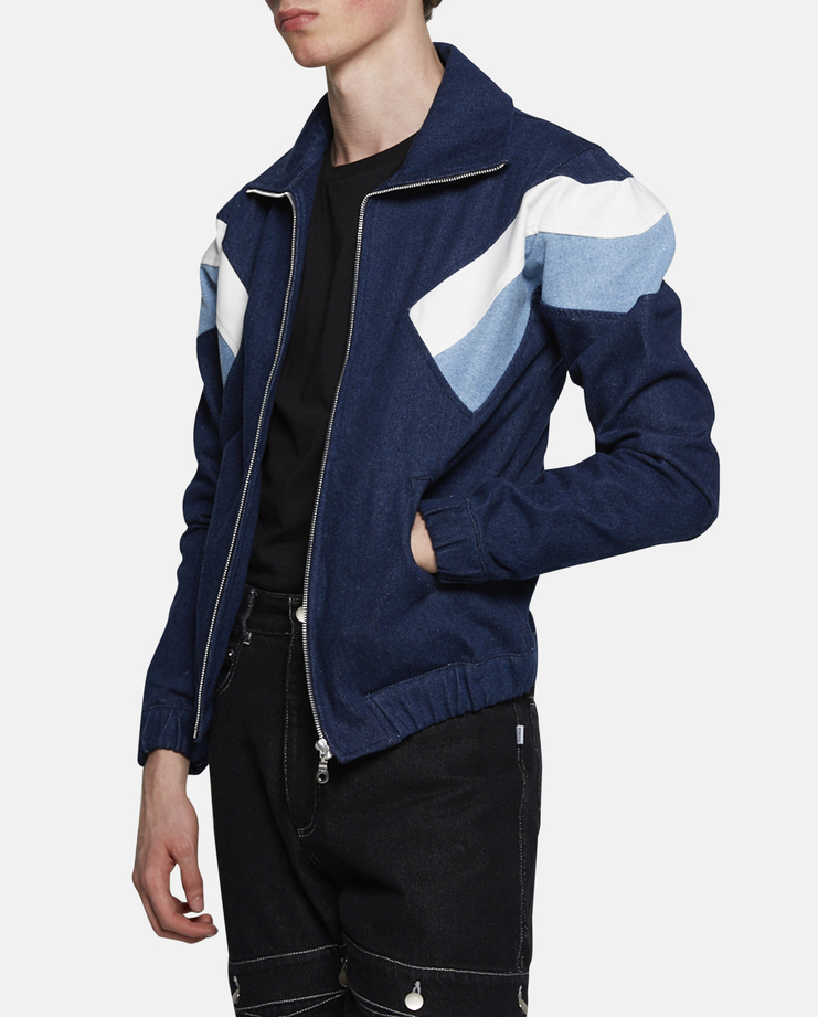 Christopher Shannon Panelled Sports Jacket