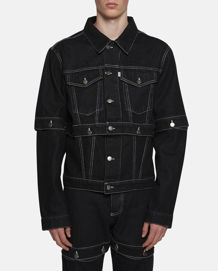 Christopher Shannon Button-Off Jacket