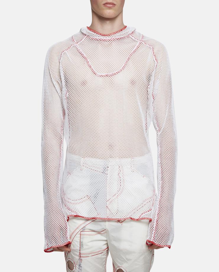 KANGHYUK Net Pullover