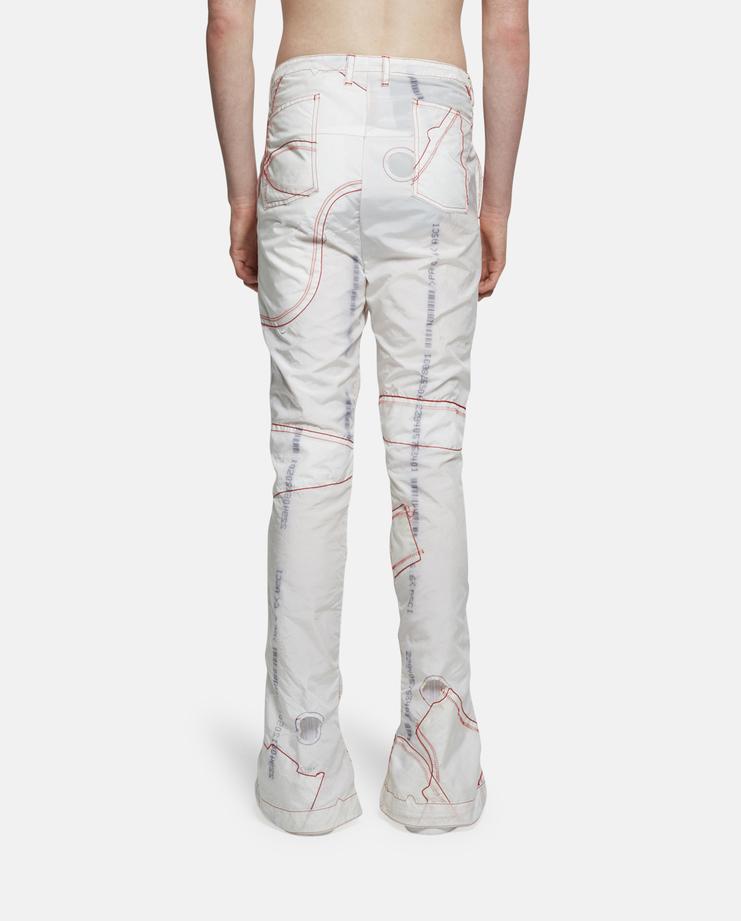 KANGHYUK Patchwork Trousers