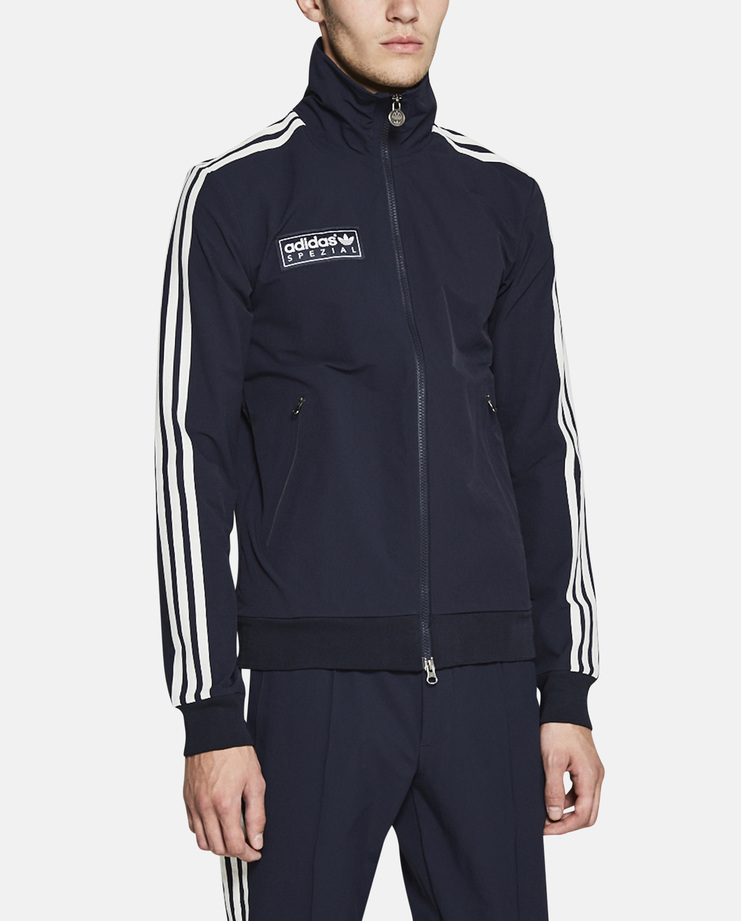 adidas spezial Forest Gate Track Top SS17 blue