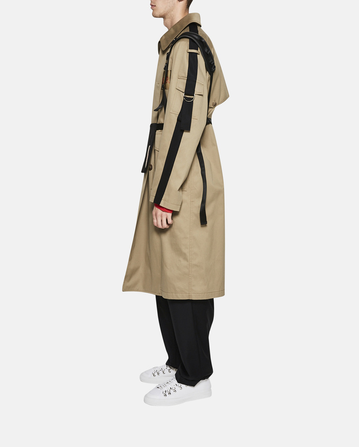 Hyein Seo, Embroidered Trench Coat, Khaki, S/S 17, New Collection