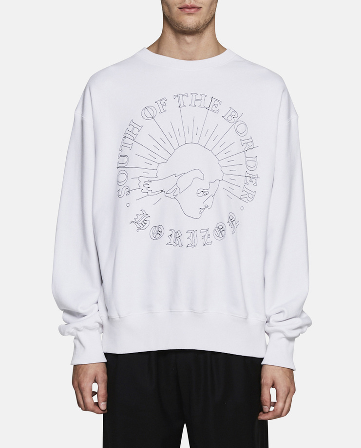 Hyein Seo, South of The Border Sweatshirt, Menswear, Womenswear, New Arrivals, S/S 17