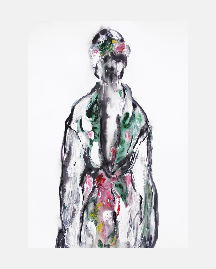 Marchesa S/S 15, fashion illustration, showstudio, fashion flora, flora starkey