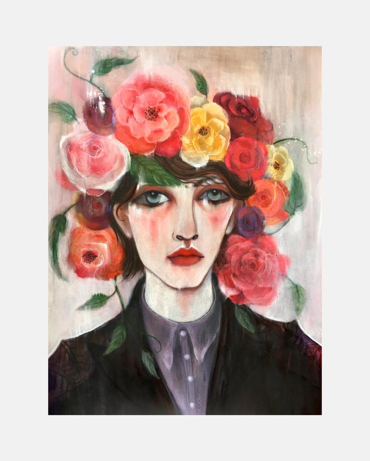 Comme des Garçons Homme Plus A/W 16, unskilled worker, showstudio, fashion illustration, flora starkey, fashion flora