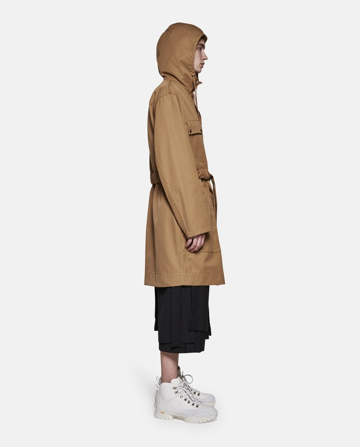 Craig Green, Hooded Anorak, Beige, Raincoat, Core, Jacket, New Arrivals, Menswear, Workwear, Beige Coat, Mens Coat, Mens Jacket, Rain Jacket, Mens Anorak