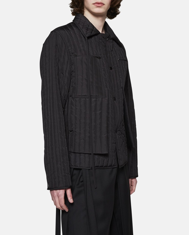 Craig Green, Quilted Workwear Jacket, Black, Menswear, Workwear, Black, Black Jacket, Workwear Jacket, Work Jacket, New Jacket, Black Coat, Mens Jacket